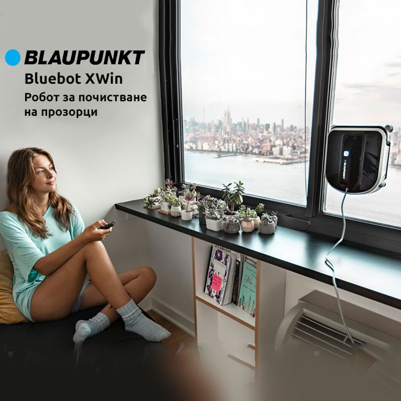 Bluebot XWin Робот за почистване на прозорци