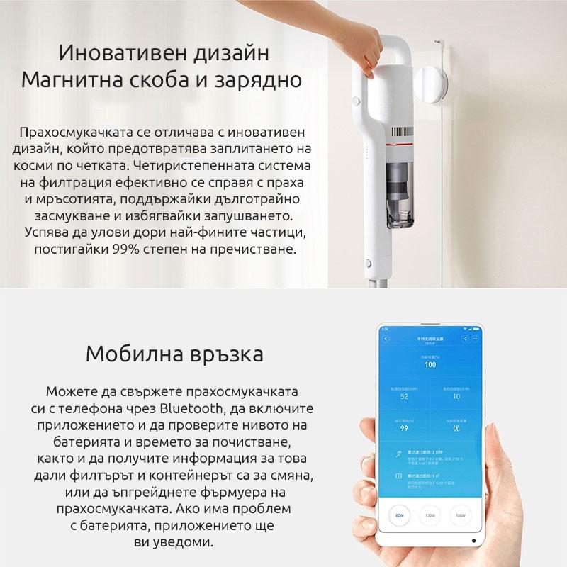 Xiaomi Roidmi F8 (S1) Безжична прахосмукачка