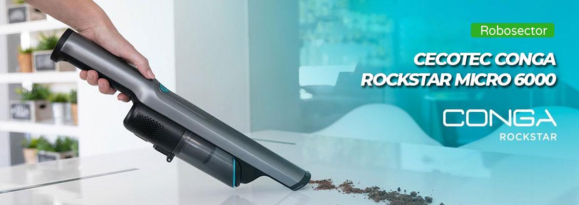 Cecotec Conga RockStar Micro 6000 - информация за модела