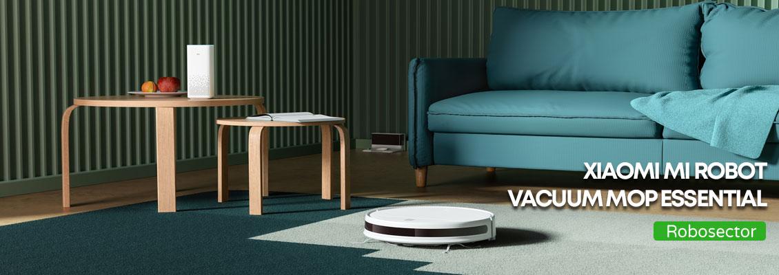 Xiaomi mi robot vacuum mop essential прахосмукачка робот - ревю